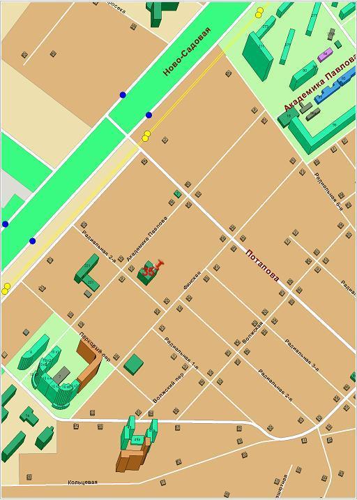 пересечение улиц Академика Павлова и 2-ая Радиальная.  443011, г. Самара, ул. Академика Павлова, д.35 (5 этаж).